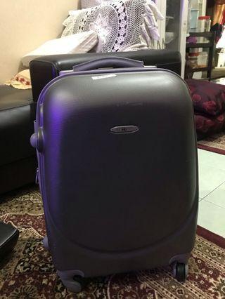 Lugage bag grey color