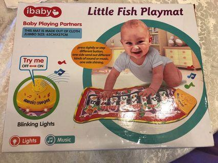 ibaby Little Fish Playmat