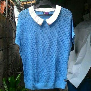 Lee Blue Knitted Blouse