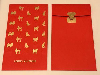 LV 利事封 lucky packet 2 個 狗仔 dog