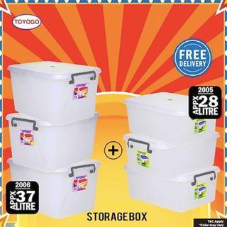 Bundle of 6 Toyogo Storage Box