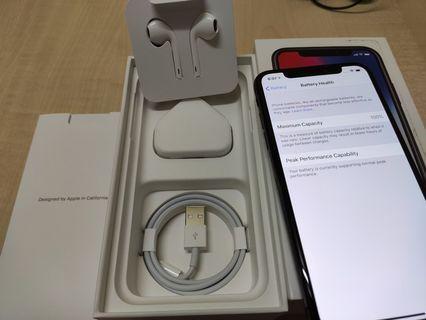 Apple Malaysia iPhone X 64gb SpaceGrey