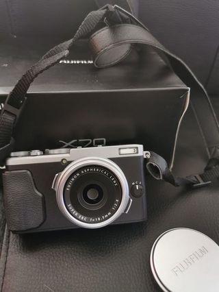 80% new * Fujifilm X70
