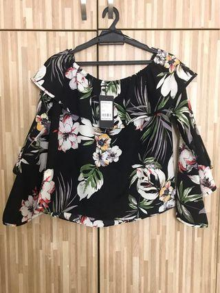 Floral [Off Shoulder] Top