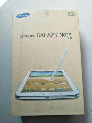 Di Jual Box, Bok, Kardus, Kotak Tab, Tablet Samsung GALAXY Note 8.0 16 GB