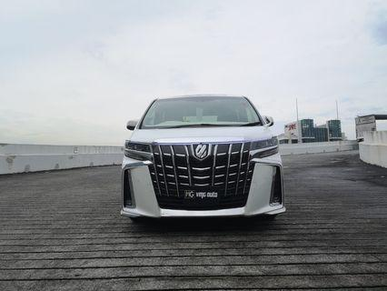 TOYOTA ALPHARD SC PACKAGE 2018 FACELIFT FOR LEASE
