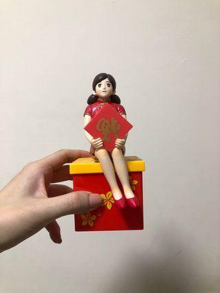 杯緣子小姐儲物盒(過年篇)