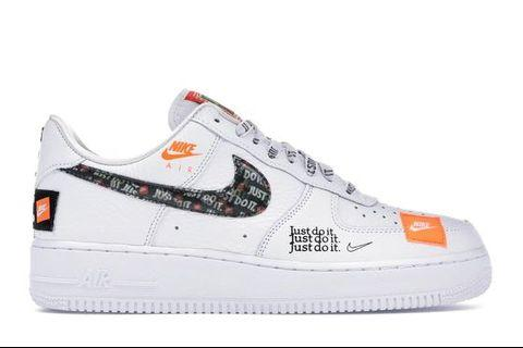 AF1 JUST DO IT, US5