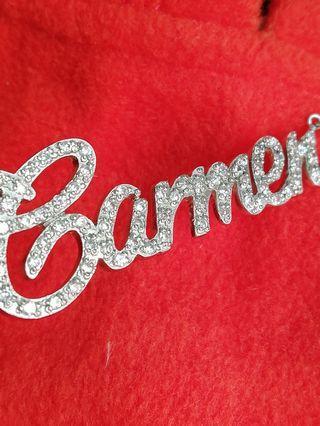Original silver 925 personalized necklace