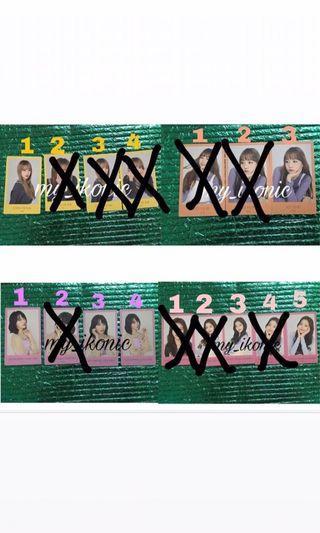 IZ*ONE Japan Goods(izone Photocard)