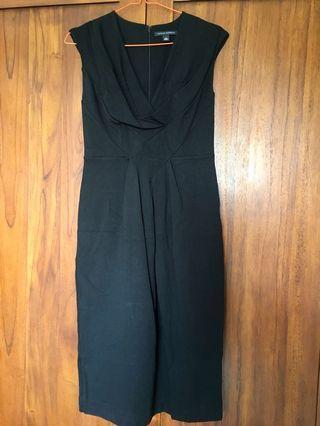 #mauthr Banana Republic Black Dress