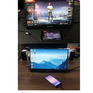 現貨15.6吋HDR攜帶式螢幕IPS吃雞必備PS4//電腦/手機/監視器/筆電 皆支援隨插即用