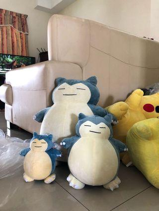Snorlax soft toy ( Large)