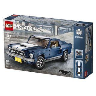 全新 lego 10265 野馬 Ford Mustang