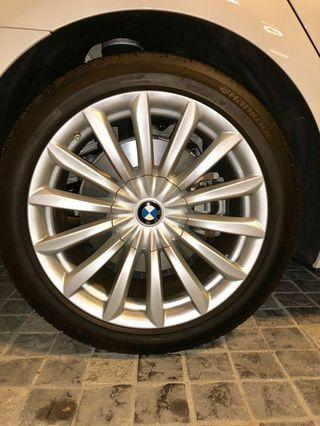 BMW 7 series 19 inch rims and tyres