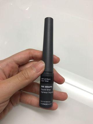 Face shop black Liquid Liner (Eyeliner)