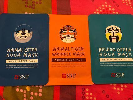 SNP mask $2一塊 九月過期