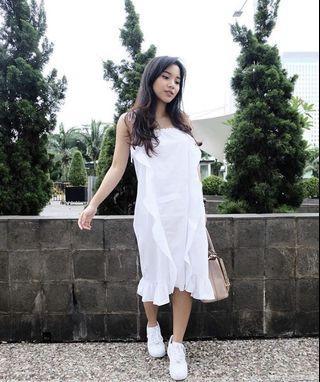 minewear white dress