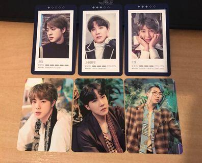 WTS BTS 5th Muster Photocards / Guestbook Photocards