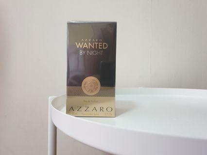 BNIB Azzaro Wanted by Night 150ml