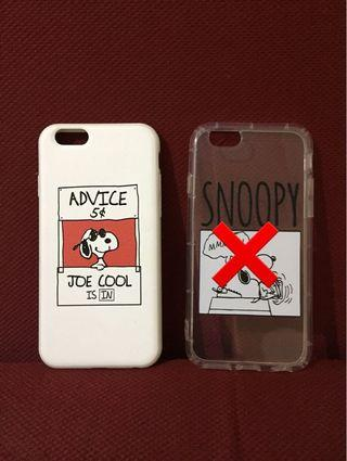 Case iPhone 6 / 6s Snoopy
