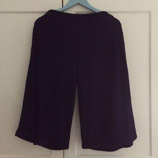 Chic Simple Culotte Pants