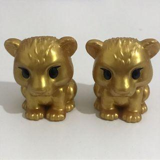 Lion King Ooshies - Cub Nala Gold