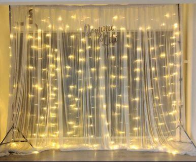 Backdrop Fairy lights