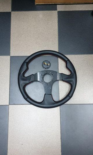 MOMO steering wheel replica