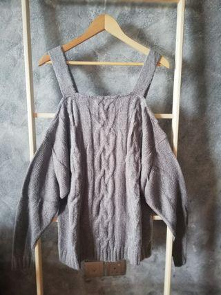 Plus Size Knitted Jumper