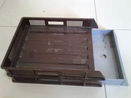 Tray Rak Dokumen Susun 2 / Paper Tray / Document Tray 2 Tier