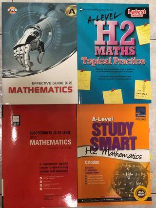 JC H2 Math Assessment Books Haul