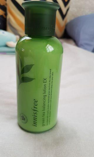 innisfree 綠茶平衡乳液 韓國帶回全新