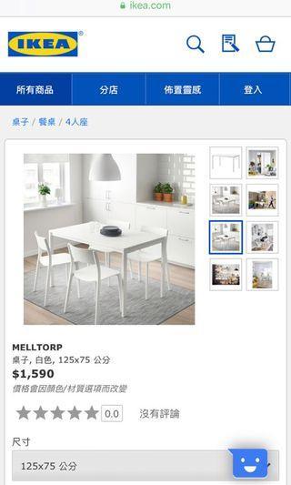 IKEA 純白 全新 已拆 自取 不議價 台北市 書桌 床邊桌 工作桌 餐桌 兒童桌