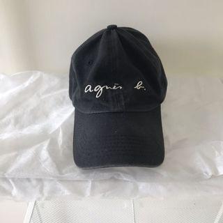 Agnesb 黑色 老帽 不議價 二手