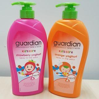 Shampoo & Sabun Mandi Anak Cair Import 750 ml - STRAWBERRY & ORANGE