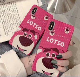 Toy Story Lotso 勞蘇曲面iPhone蘋果手機殼