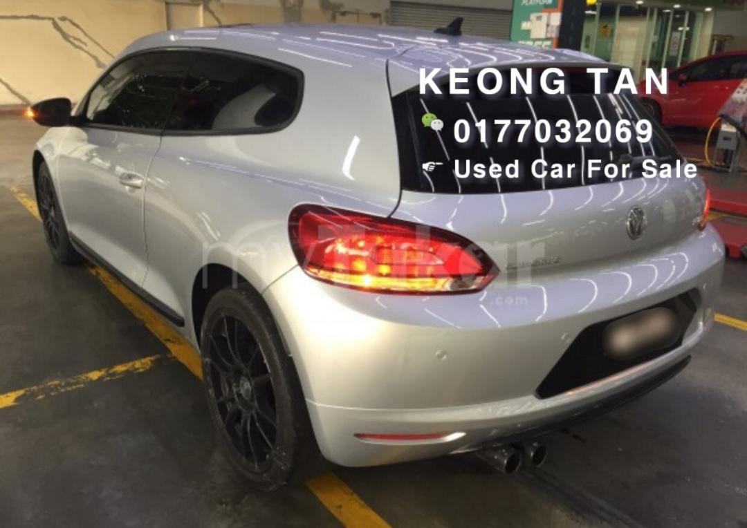 🚘2009TH Volkswagen SCIROCCO GT 2.0 TSI (A)SPORTCar In Market🚘Cash💰OfferPrice💲Rm56,500 Only‼ Lowest Price InJB 🎉📲 Keong‼🤗