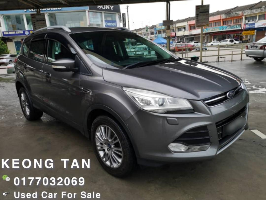 2013TH FORD KUGA ECOBOOST 1.6AT GDTI TURBO SUV JohorPlate/Low MILEAGE 8XXXXKM Cash💰OfferPrice💲Rm46,500 Only‼ LowestPrice InJB‼