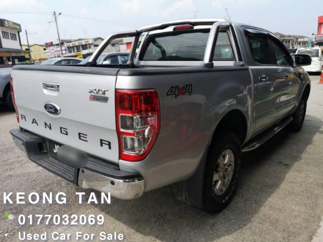 2014TH FORD RANGER 2.2AT XLT 4X4 (HI RIDER)Low MILEAGE 9XXXXKM Cash OfferPrice💲Rm51,800‼Lowest Price InJB 🎉📲 Keong‼🤗