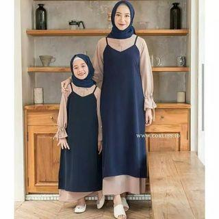 Baju muslim couple mom&kids