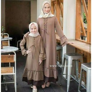 Mididress couple ibu dan anak