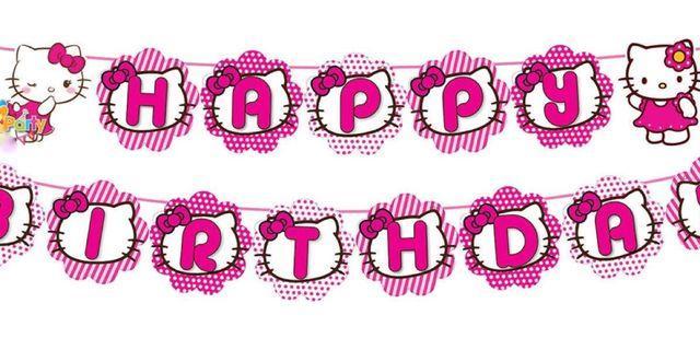Happy Birthday Banner kitty