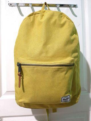 Herschel Yellow Backpack