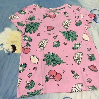 Fruit Pink Shirt Berskha