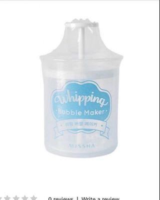 韓國MISSHA Whipping Bubble Maker