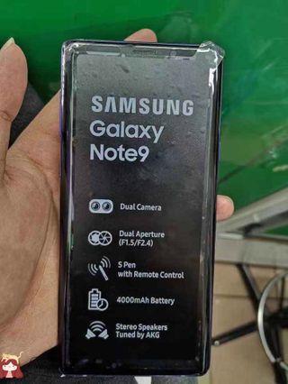 Demo Set Samsung Note9 Blue FullSet Likenew