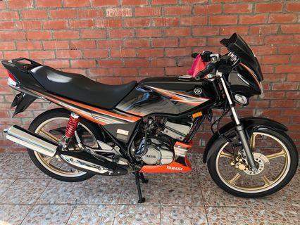 Yamaha rxz catalayzer 09