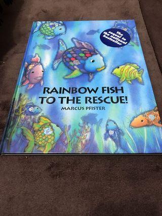 Rainbow fish to the rescue 英語繪本