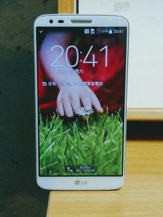 95% New LG G2 4G Backup Phone 備用機 White 白色